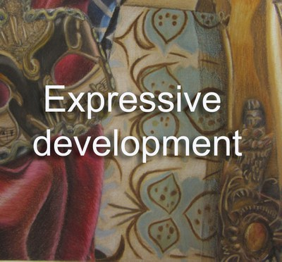 Expressive development button