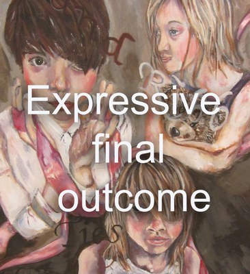 Expressive final outcome higher