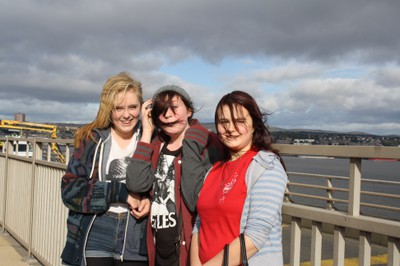 Tay Bridge Onesie Walk 2012 8