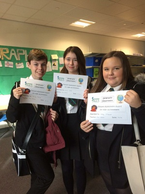 S3 High Achievers in Violent Volcanoes Topic!