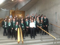 Scottish Parliament Visit