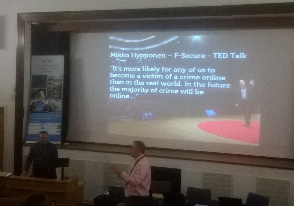 Christmas Cyber Security Lectures at Abertay