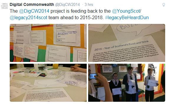 Digital Commonwealth / Young Scot Legacy Event