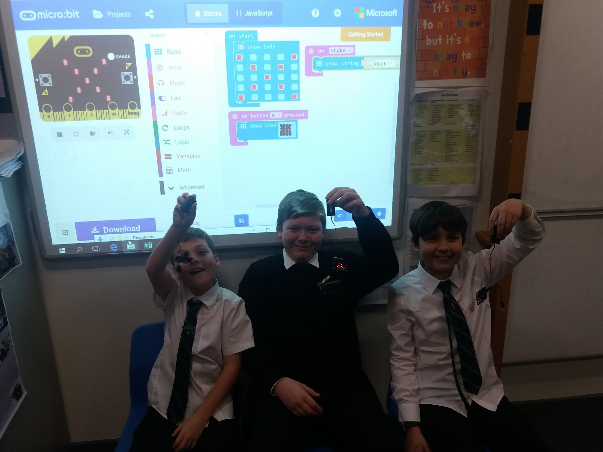 S1 Computing Science Ambassadors
