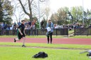 Approach to the long jump -