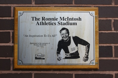 Stadium Plaque