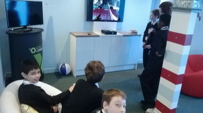 Multiplayer Halo in the beach hut