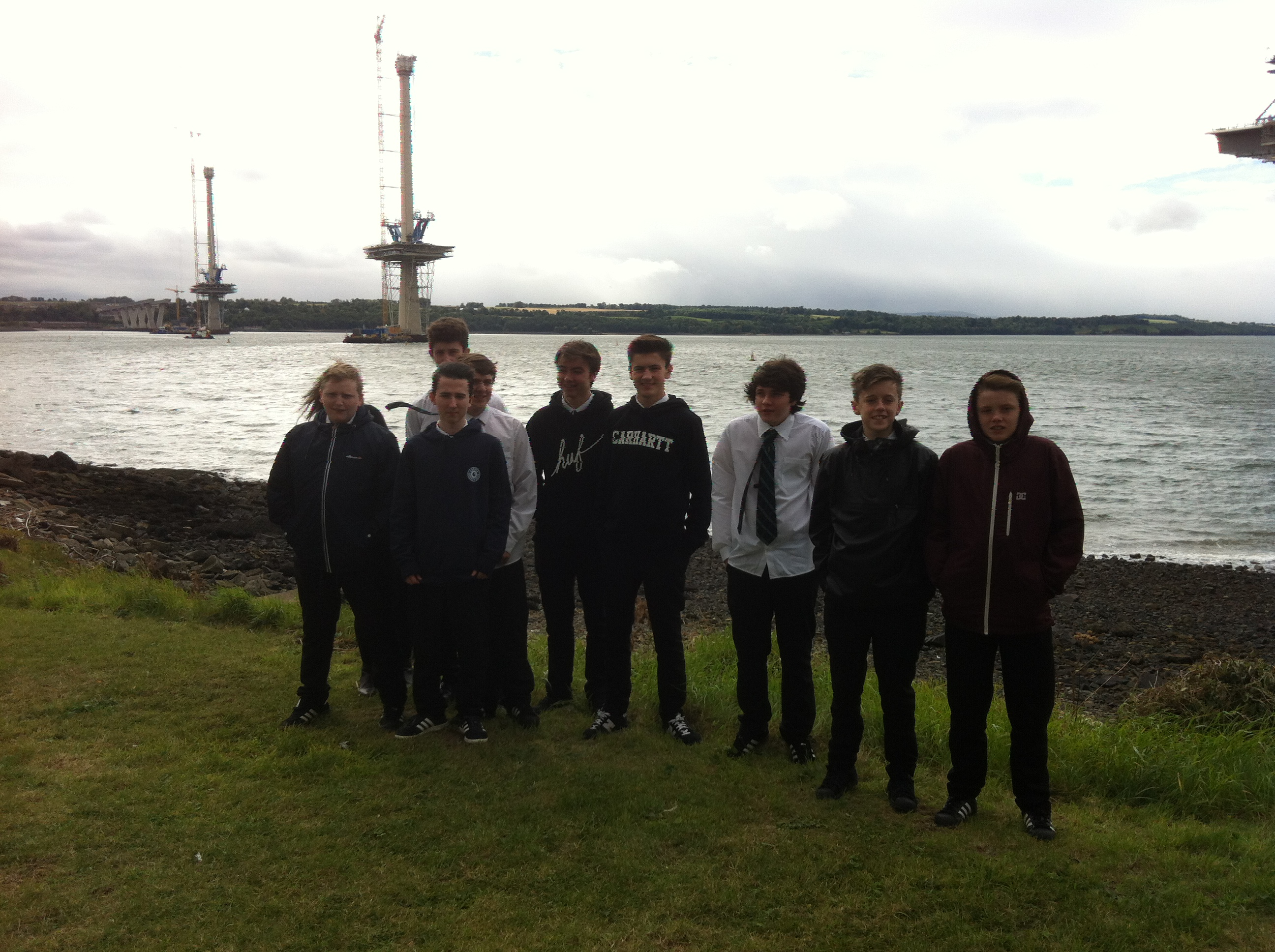 CDT visit to Forth Replacement Crossing