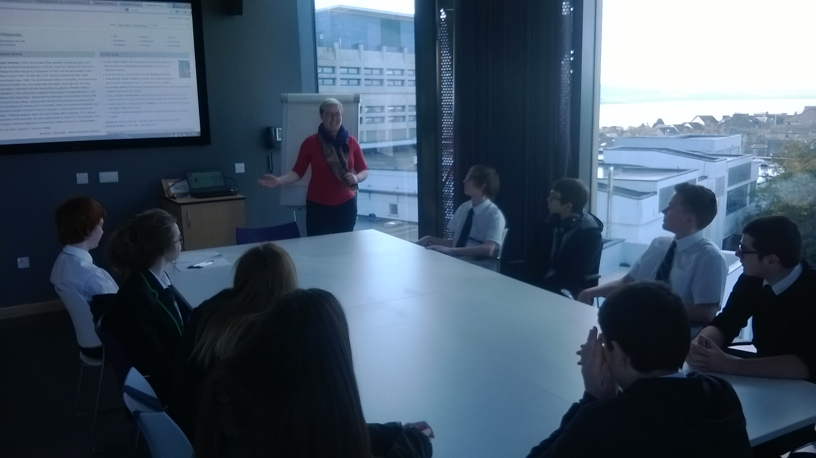 National 5 Computing Science visit to Dundee University