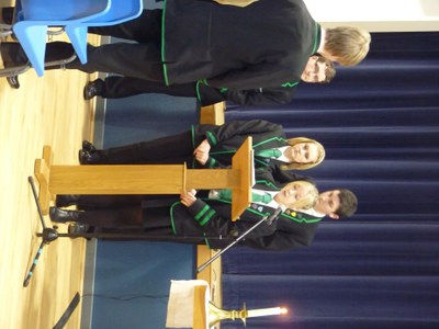 Readings by Senior Pupils at Family Mass