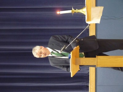 Head Teacher - Mr Carroll at Family Mass